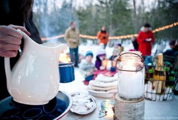 Warm Winter Drinks and Fun