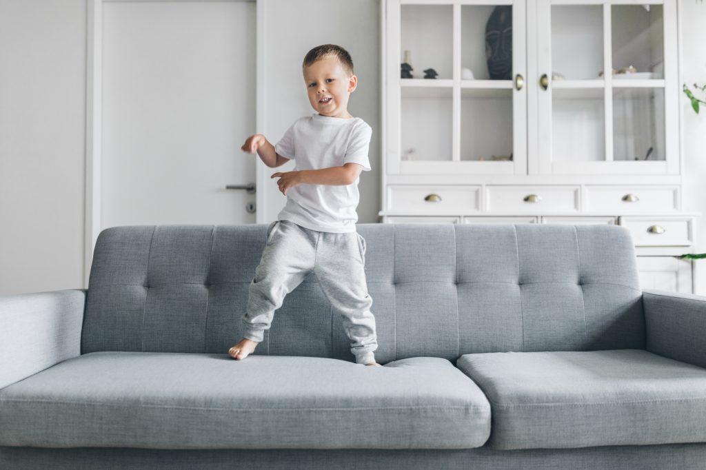 Child on the Sofa