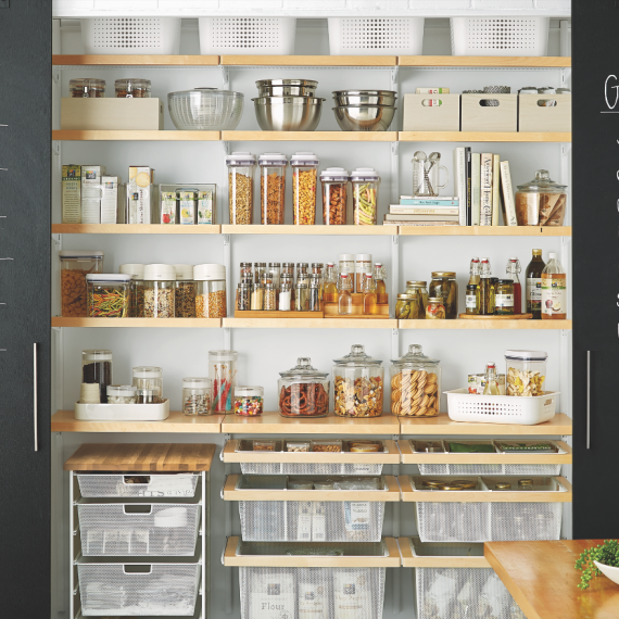 An Organized, Pest Free Pantry